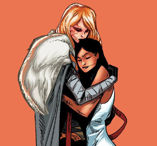 Angela + Sera from angela: queen of hel 3