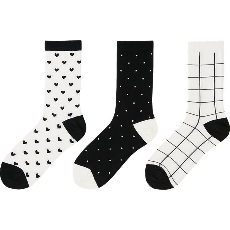 WOMEN SOCKS 3 PAIRS (HEART)   [Buy]   Pinterest   Socks
