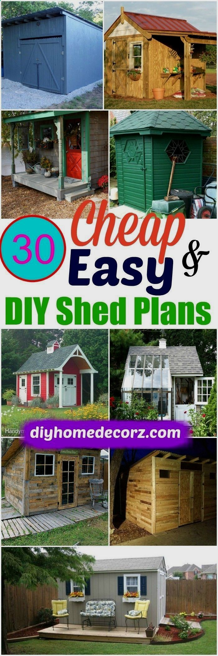 Shed Ideas, Backyard Storage Sheds, Storage Building Plans - CLICK ...