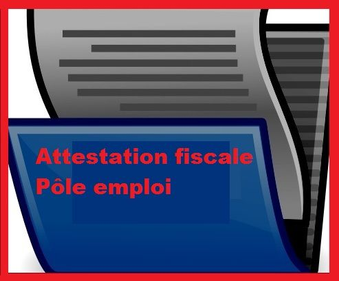 Attestation Fiscale Pôle Emploi 2013 : L'obtenir en Ligne