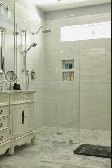 Walk In Shower No Door Home Bathroom Window In