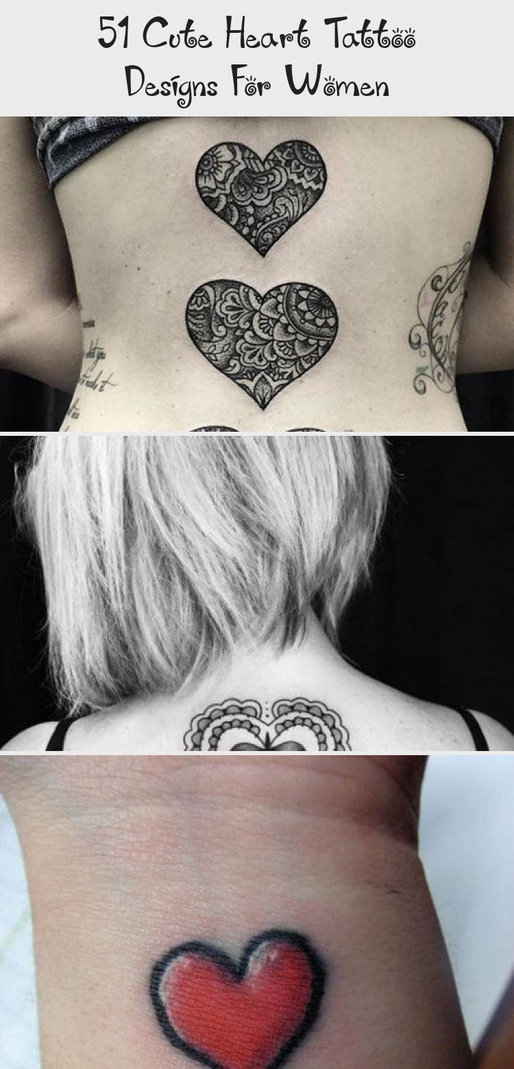 51 Cute Heart Tattoo Designs For Women Pin Boss Tattoo
