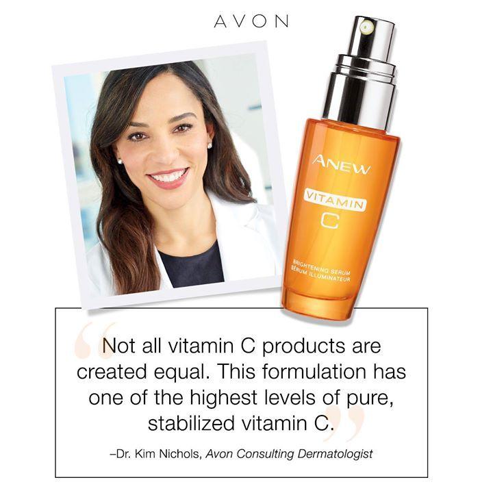 Image result for anew vitamin c brightening serum