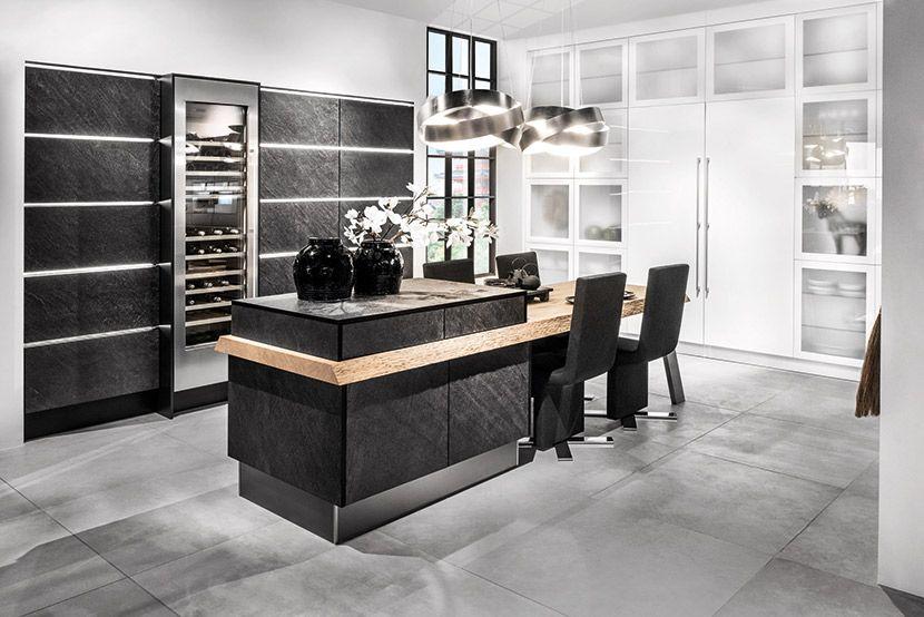 Photograph Black Star by Hacker Kitchens KITCHEN DESIGN 101 - häcker küchen systemat