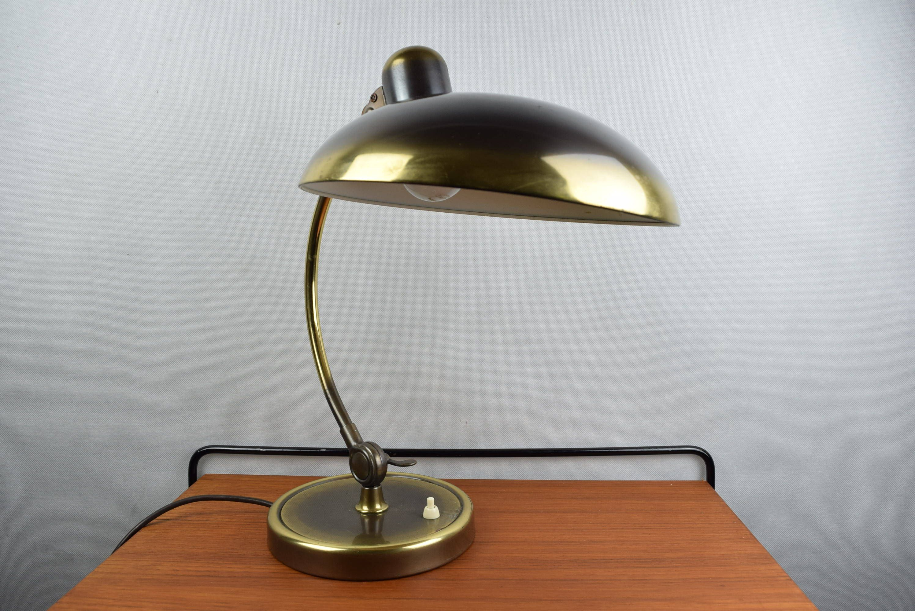 Original Bauhaus Modernist Table Lamp Desk Light Christian Dell