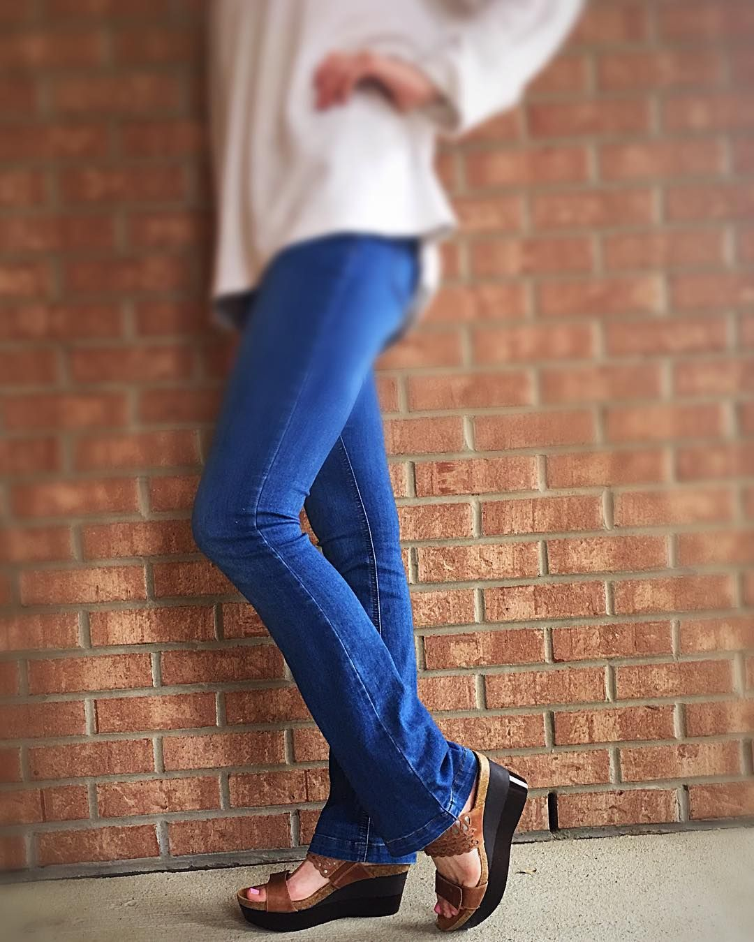Showing off our Naot Rise #wedges