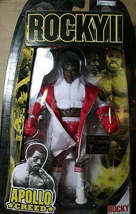 "Rocky II: The Authentic Collection Action Figure Apollo Creed by Jakks. $41.99. Size: approx. 5"". For age 8 and up. Rocky Colectors Series"