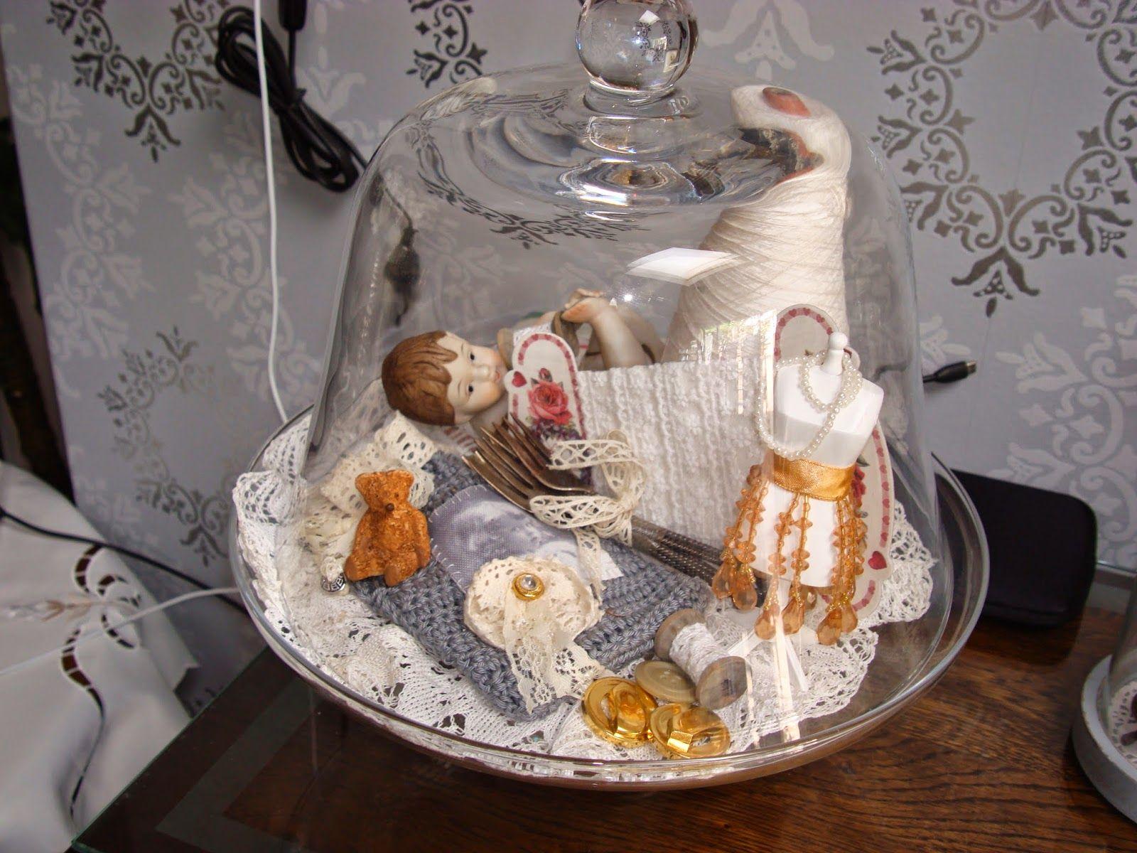 Rosa Hobby Creaties: stolp vintage