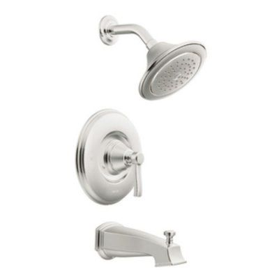 Moen Rothbury Ts2213 Posi Temp Eco Performance Tub Shower Set