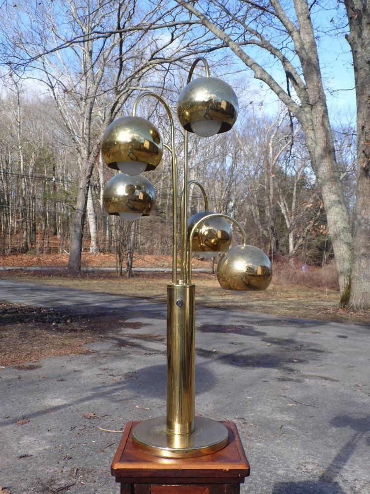 Orb Table Lamp Brass