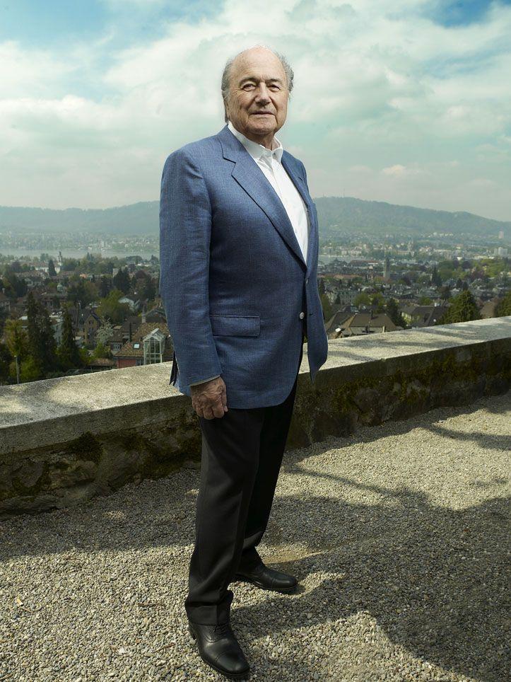 Sepp Blatter © Dominic Büttner