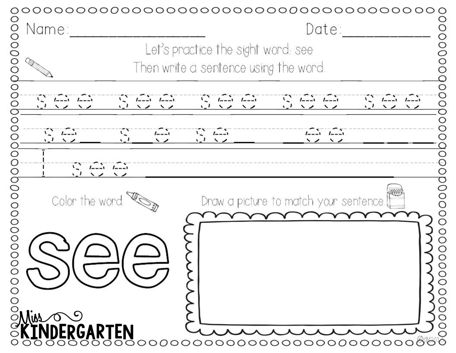 worksheet Site Word Worksheets sight word practice words and practice