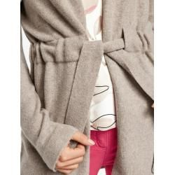 Photo of Strickjacke mit Krawattengürtel Beige Gerry WeberGerry Weber