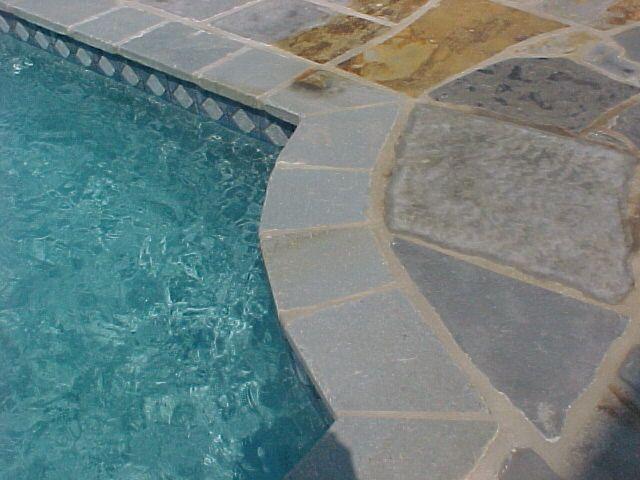 Bluestone Coping Around Pool Google Search Modern Organic Cozy Home Pinterest Pool