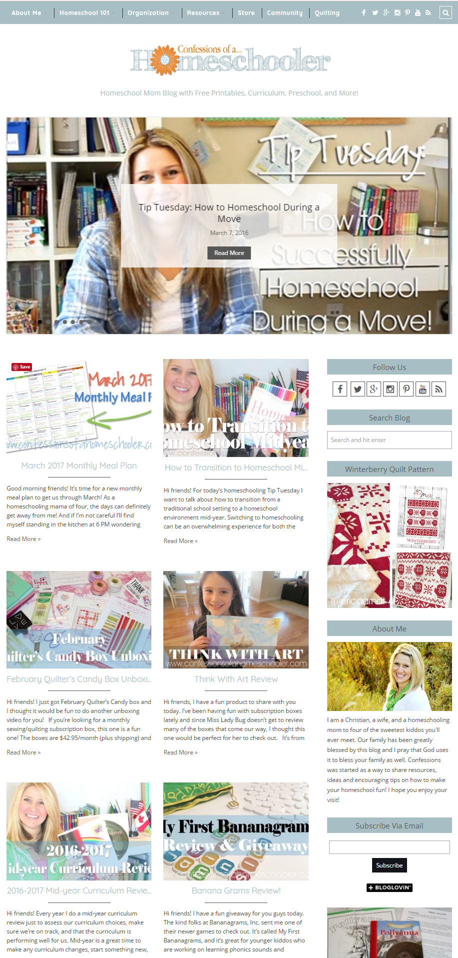 Homeschool mom blog with free printables, curriculum, preschool, and ...