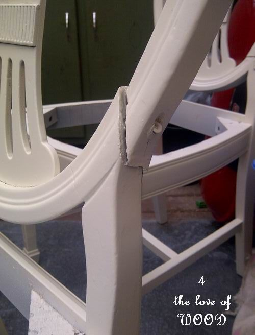 4 the love of wood: FIXING BROKEN DINING CHAIRS - sheild ...