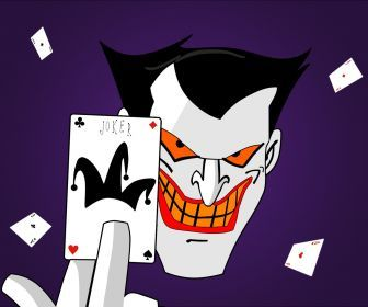 Joker From The Cartoon Series The New Batman Movies And The New