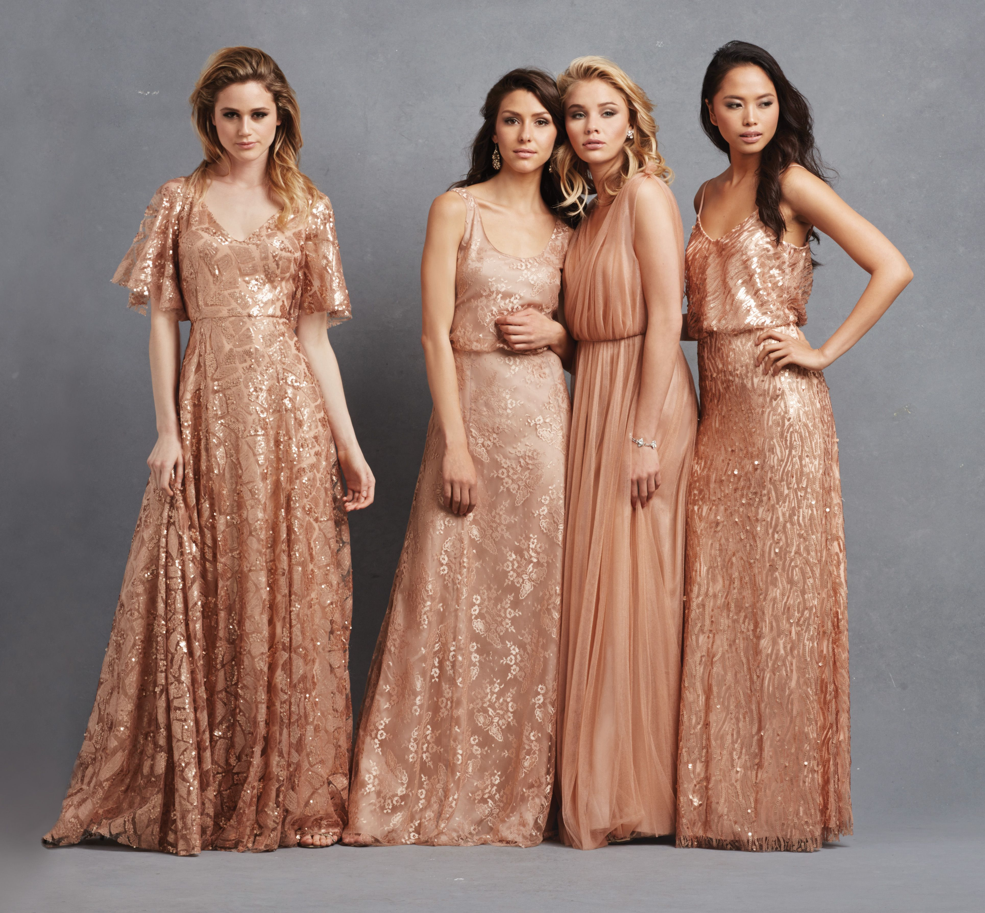 Rose gold mix and match donna morgan collection serenity the first ones dress style rose gold mix and match ombrellifo Images