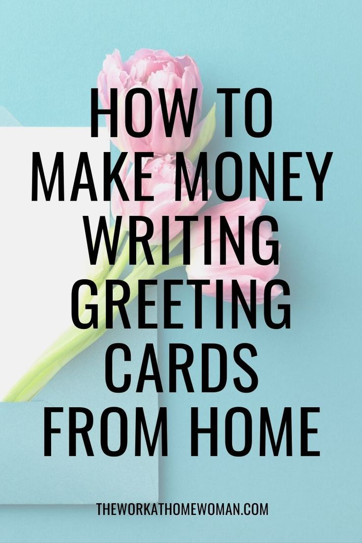 Get Paid To Write Greeting Cards From Home Legit Work From Home