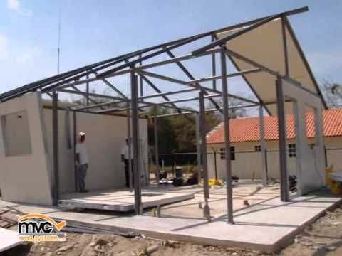 Estructura metalica acero y concreto sas youtube - Casas con estructura metalica ...