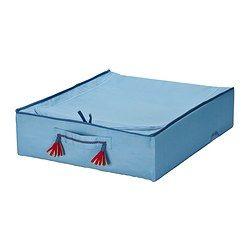 PYSSLINGAR Vuodevaatelaatikko, vaaleansininen - 50x60 cm - IKEA