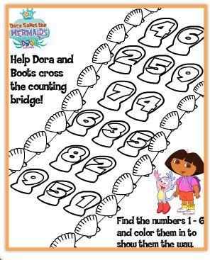 Free Nick Jr Printable Activity And Coloring Pages Dora Backyardigans Wonder Pets