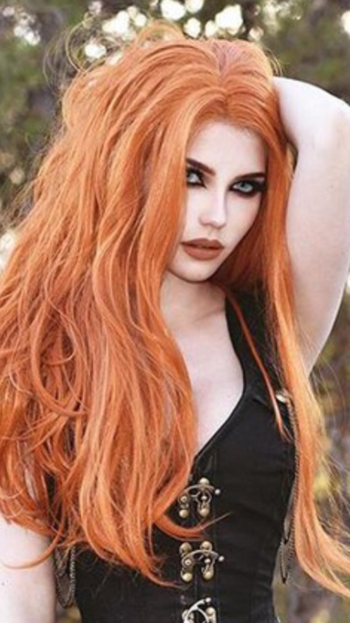 Redhead vogue models