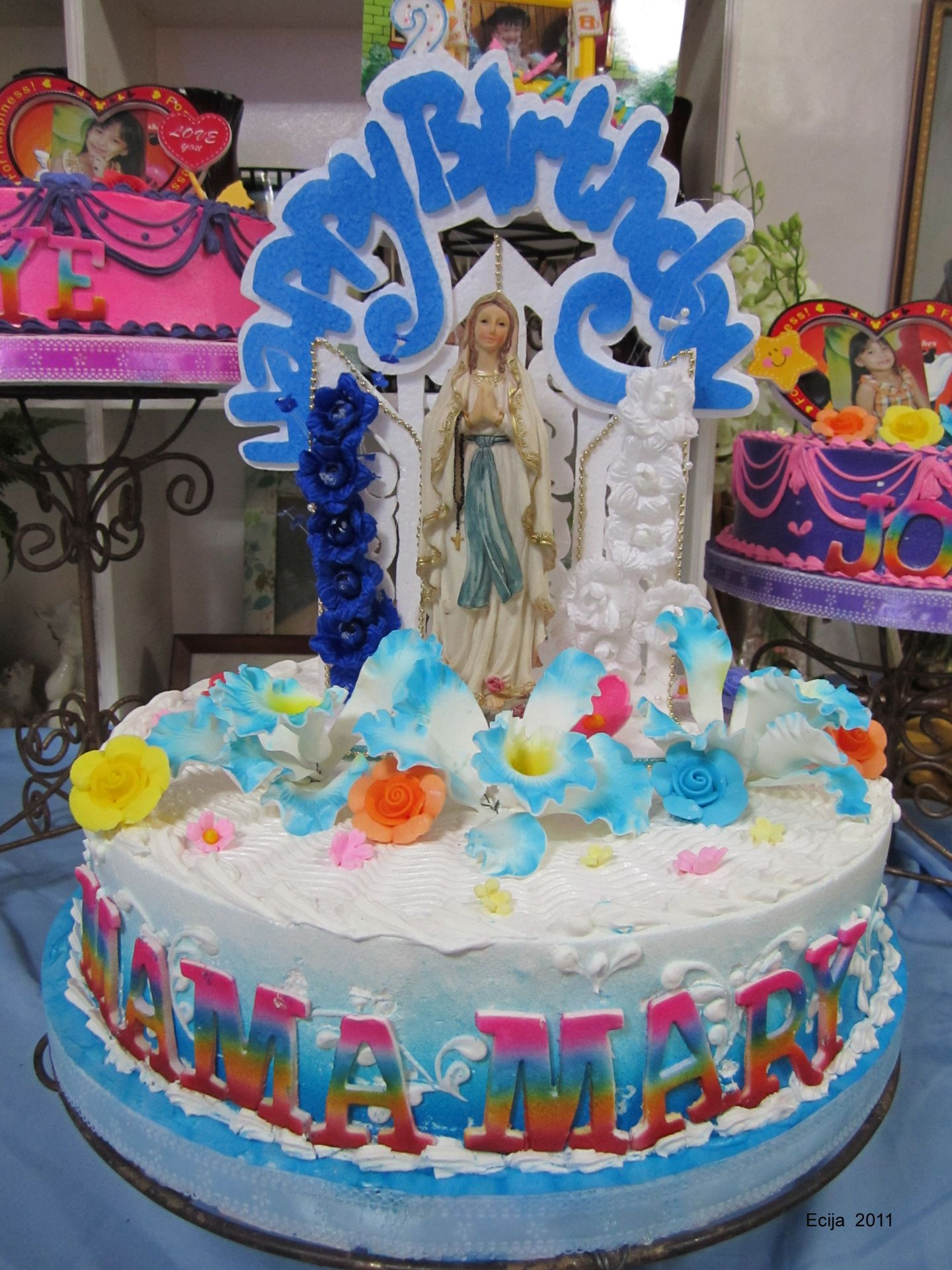 The Nativity of the Blessed Virgin Mary has been