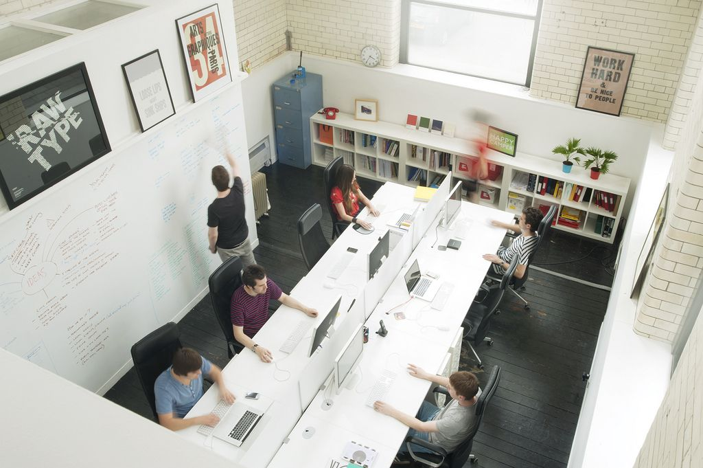 Hard At Work Design Studio Office Commercial Office Design Design Studio Space