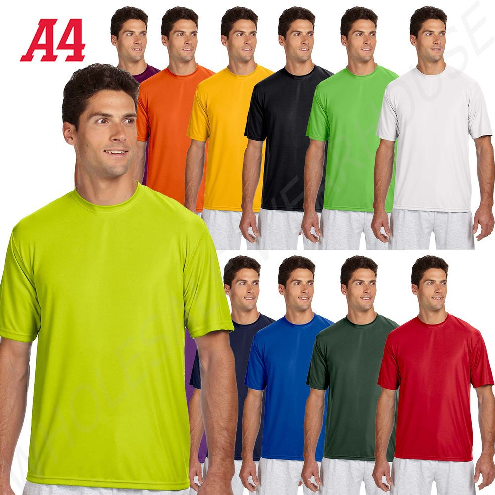 Details About New A4 Men S Dri Fit Workout Running Cooling