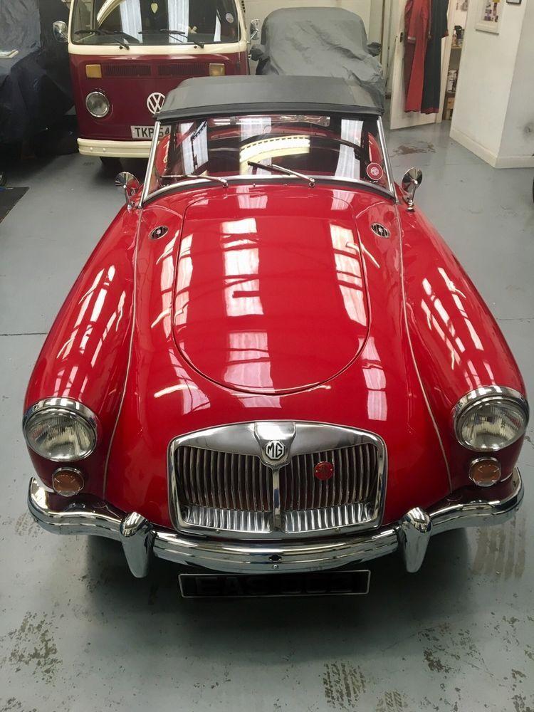 6a66b10d255 eBay: 1962 MGA 1622cc Chariot red New MOT MG classic car | MGA 1962 ...