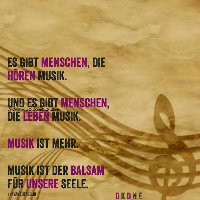 Musik Balsam für die Seele | Wahre Worte | Movie posters, Movies