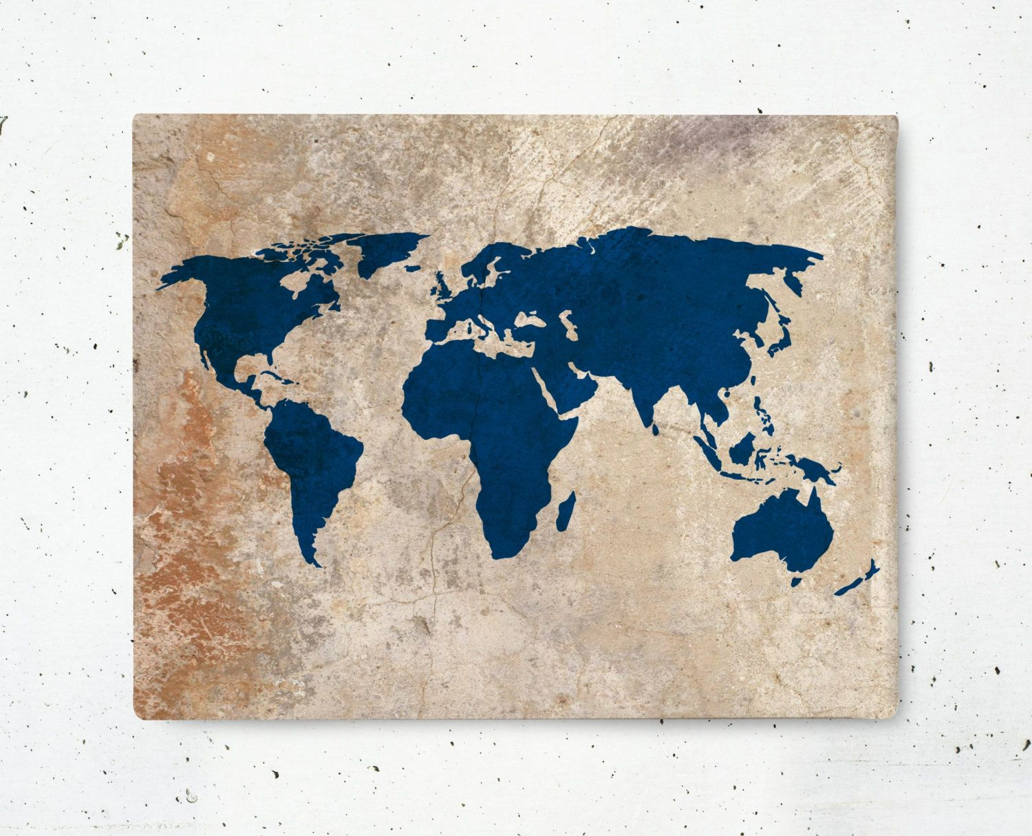 New to bysamantha on etsy rustic world map canvas art print new to bysamantha on etsy rustic world map canvas art print world map canvas gumiabroncs Image collections