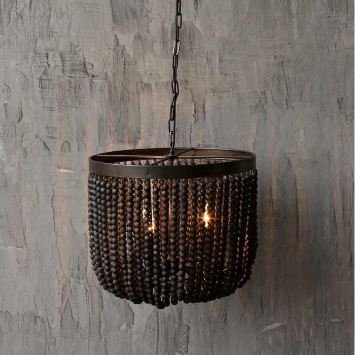Creative co op turn of the century wood beads chandelier reviews creative co op turn of the century wood beads chandelier reviews wayfair aloadofball Images