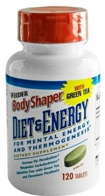 WEIDER Diet & Energy 120 Tablets - For Sale