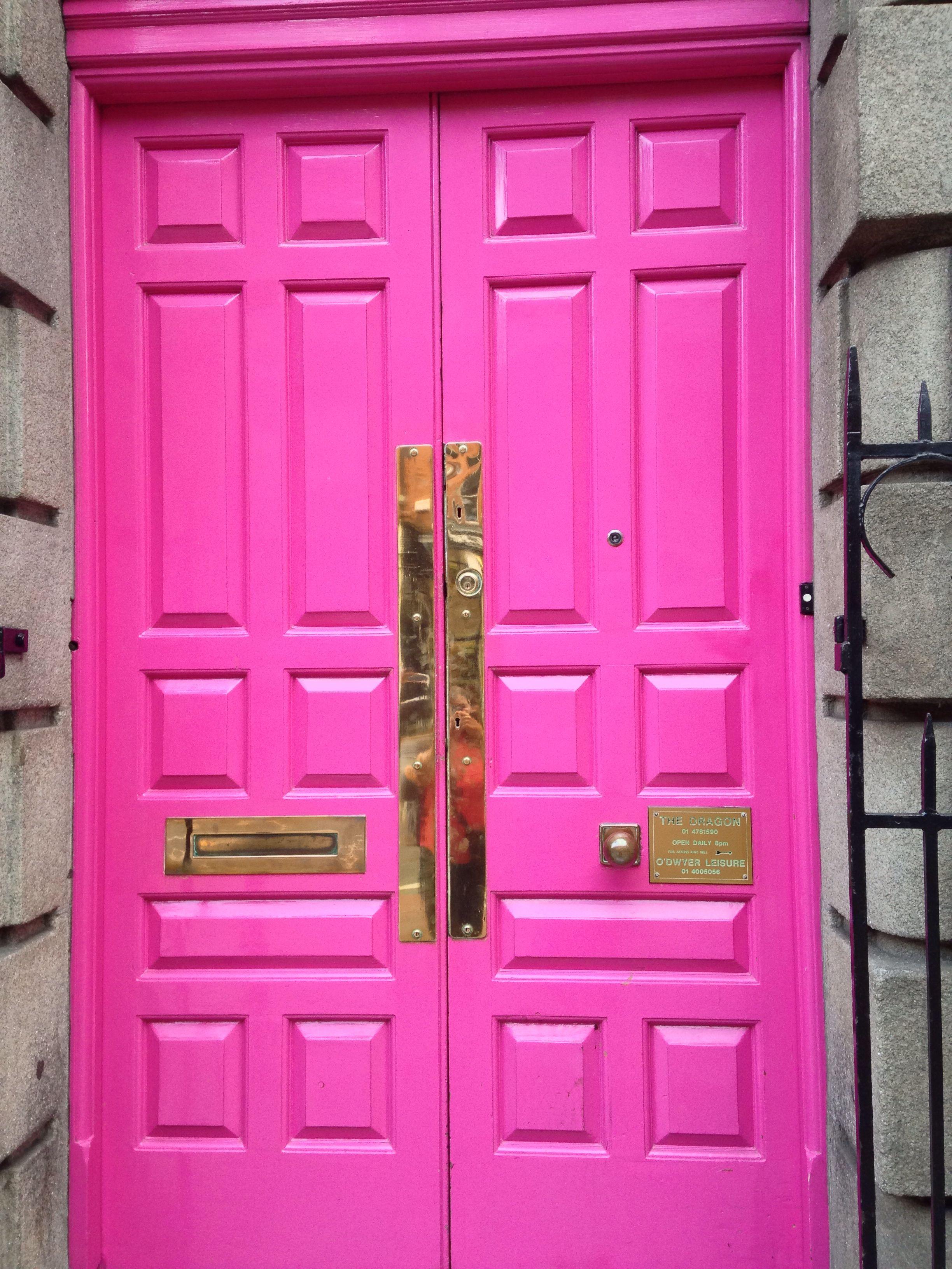 Beautiful door in dublin ireland prettyinpink ideas for the