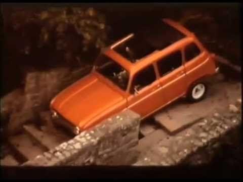 """Pub Renault 4 1973  """"Demande-lui beaucoup """" by Michel Fugain"""