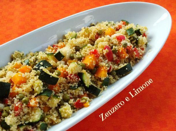 Cous cous light ricetta vegetariana ricetta vegan for Cucinare cous cous