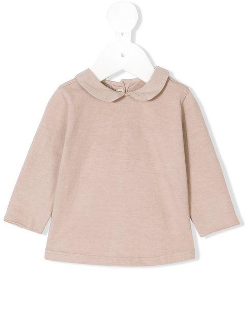 De Cavana Kids Peter Pan collar cosy blouse
