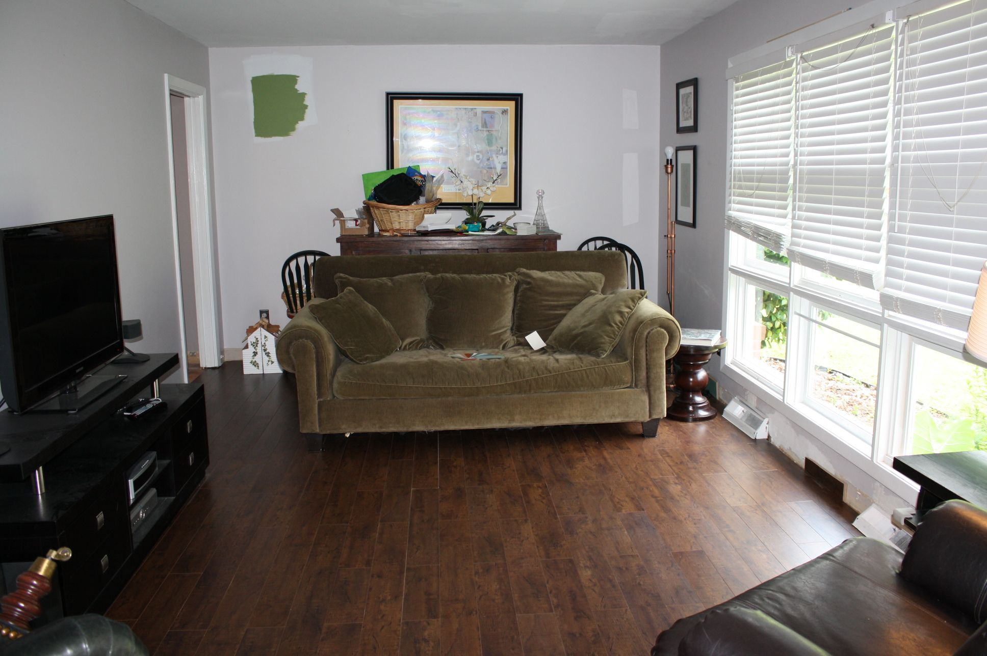 Golden select laminate flooring review house home reno - Inexpensive flooring ideas for living room ...