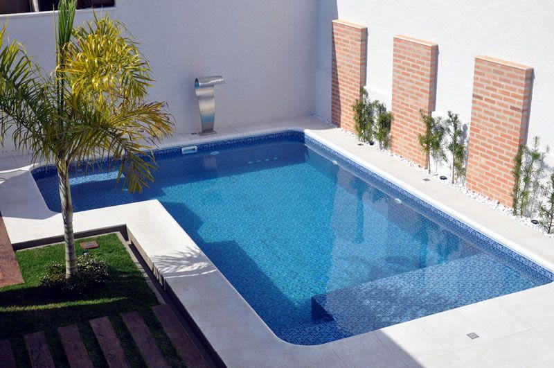 Vida sol piscinas galeria da piscina de vinil deco for Piscinas en patios chicos