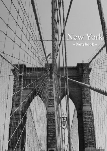 New York - Notebook: large format, lined
