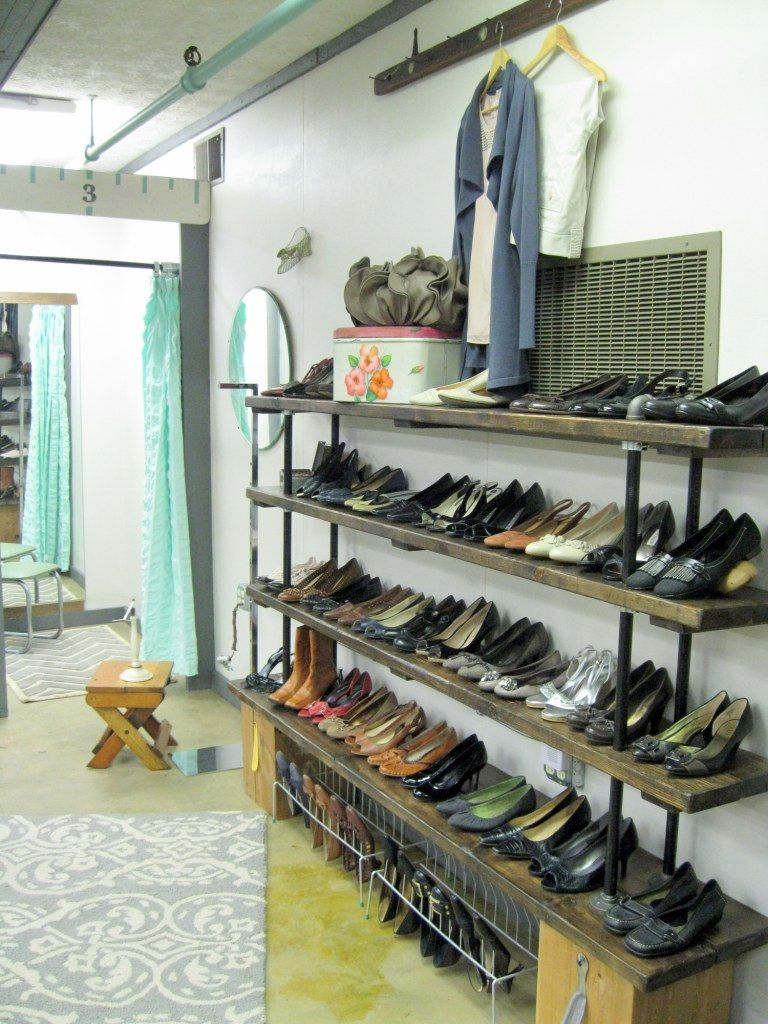 pretty cheap the cheapest where can i buy Pipe shelves for shoes | Best Bib and Tucker Hartville, Ohio ...