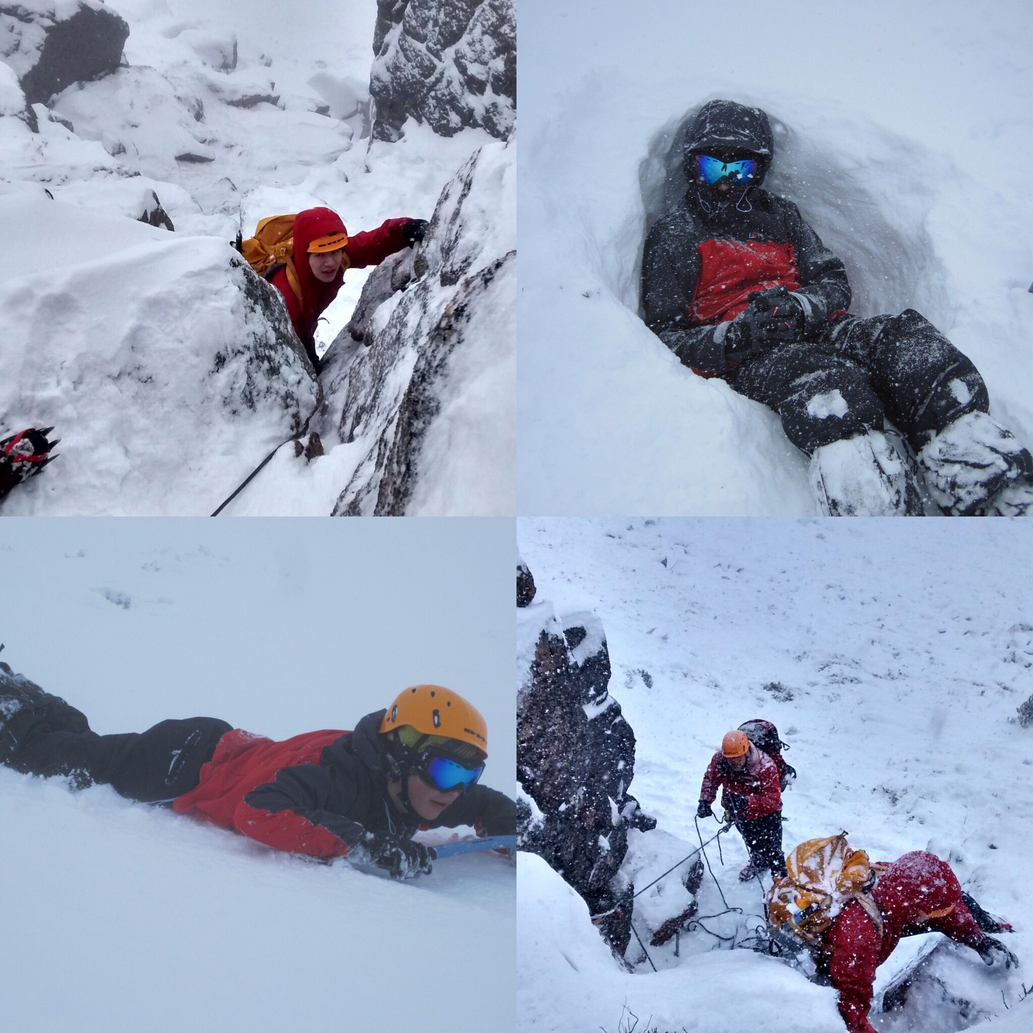 Scottish Winter Mountaineering at the Cairngorms #abbotsholmeschool #mountaineering #winter #snow #cairngorms