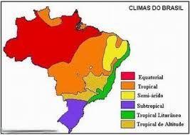 Climas Do Brasil Para Imprimir Climas Do Brasil Massas De Ar