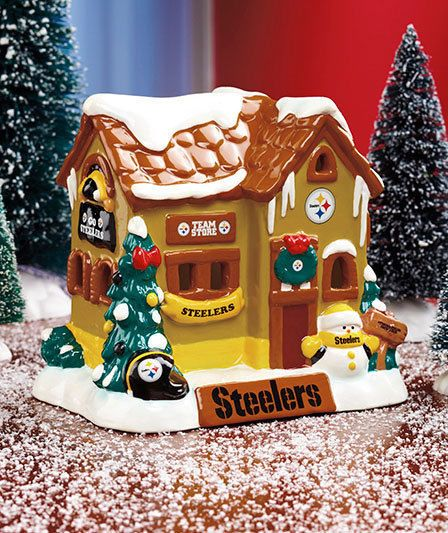 Pittsburgh Steelers Nfl Football Collectible Christmas Holiday House Home Decor Pittsburghsteelers