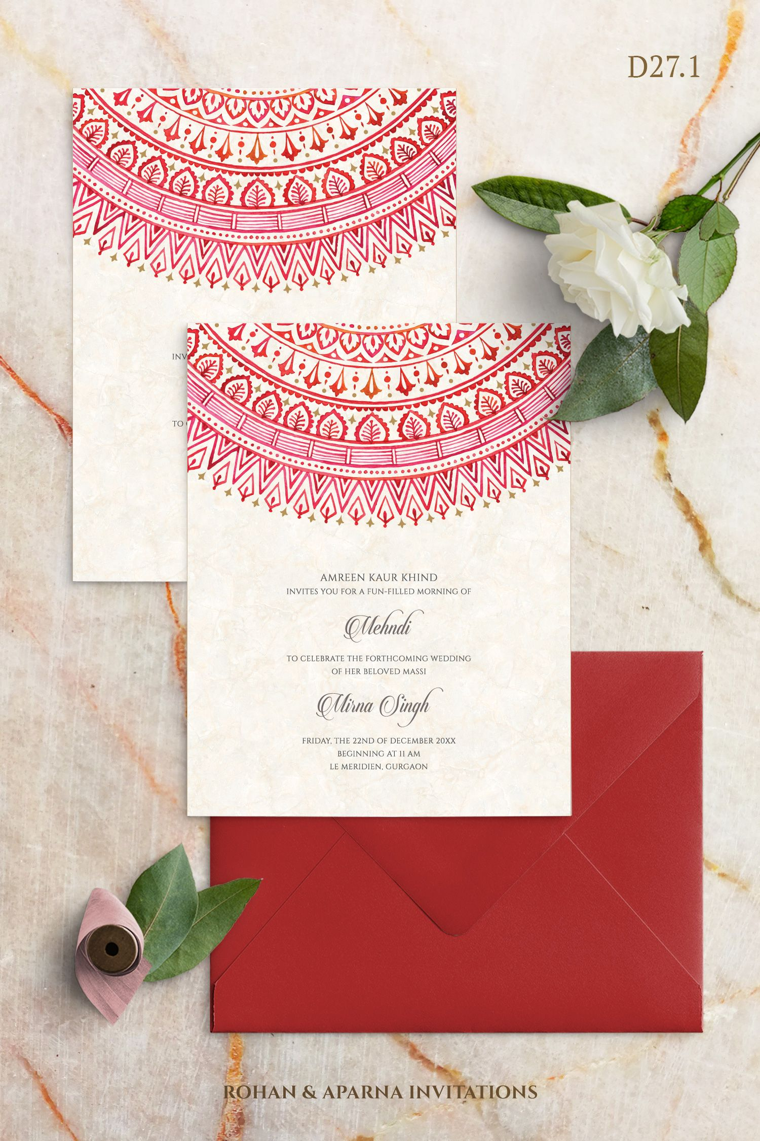 Handmade Mandala Design Wedding Invitation Concept For More Design Hindu Wedding Invitation Cards Wedding Invitation Card Design Creative Wedding Invitations