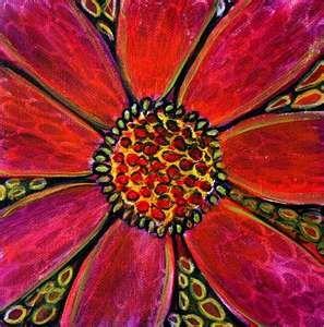 Luiza Vizoli paintings - color to extreme!