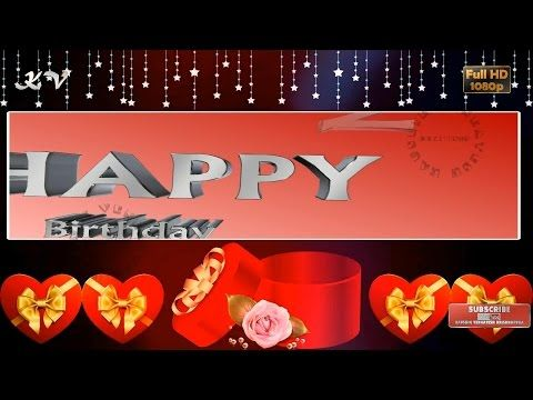 7 Happy Birthday Best Wishes Whatsapp Video Free Download Greetings Messages Animated Quotes