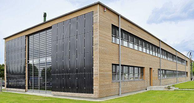 Opitz Holzbau, Neuruppin, Germany BIPVs Building